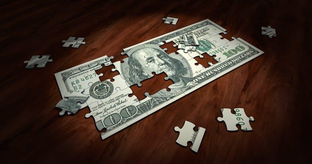 שטר כסף עם חורים