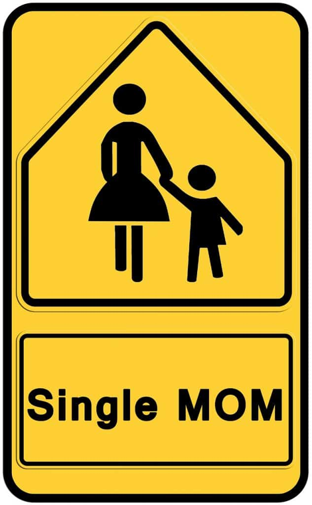 אם חד הורית